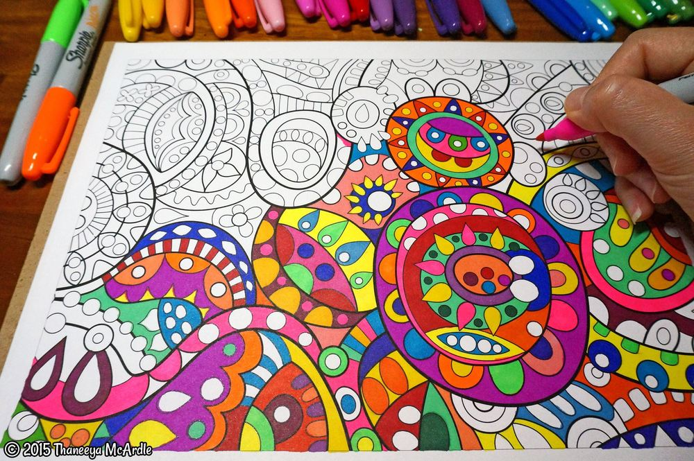 Stay Weird Coloring Page by Thaneeya McArdle | Free adult coloring ... | 665x1000