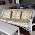 Original set of wicker furniture