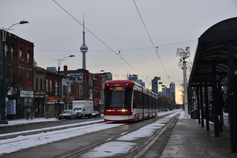 King business streetcar